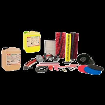 Onderdelen veegmachines & accessoires