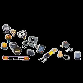 Verlichting, elektr. uitrusting & accessoires