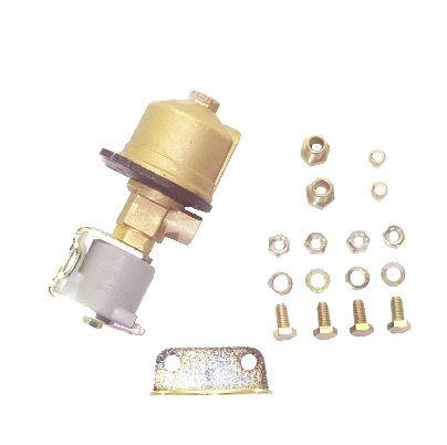 Lock off valve + filter 12V